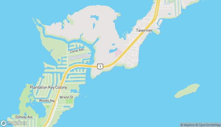 Map of 91100 Overseas Hwy in Tavernier
