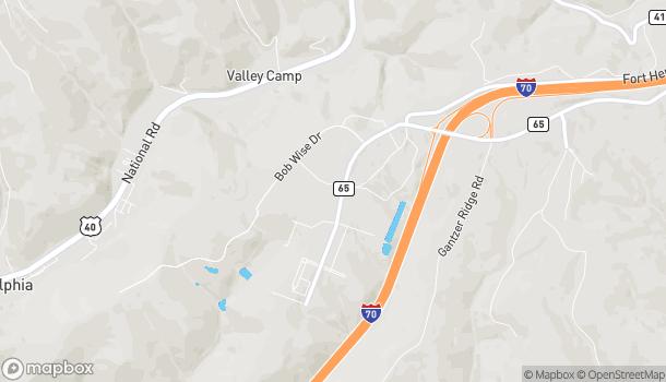 Map of 405 Cabela Drive in Triadelphia