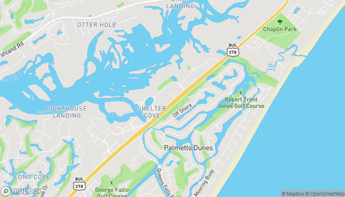 Map of 34 Shelter Cove Lane in Hilton Head Island