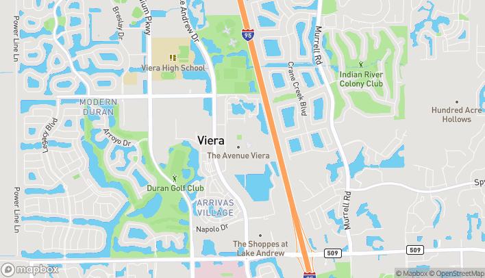 Mapa de 2250 Town Center Ave en Melbourne