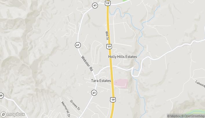 Mapa de 209 Merchant Walk en Summersville
