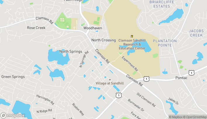 Map of 155 Forum Drive in Columbia