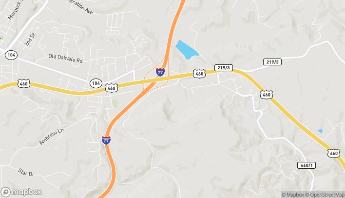 Mapa de 229 Greasy Ridge Road en Princeton