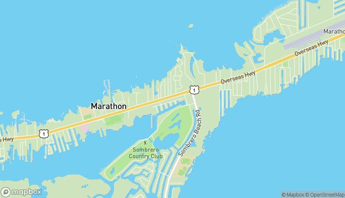 Mapa de 5109 Overseas Hwy en Marathon