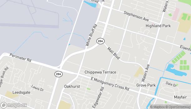 Mapa de 7804 Abercorn St en Savannah