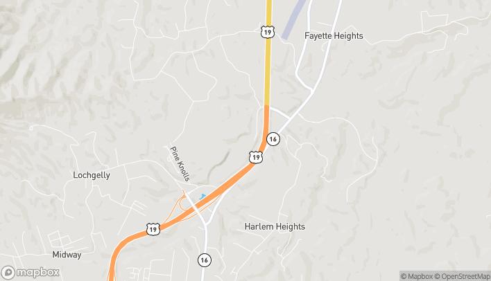 Mapa de 565 Mall Road en Oak Hill