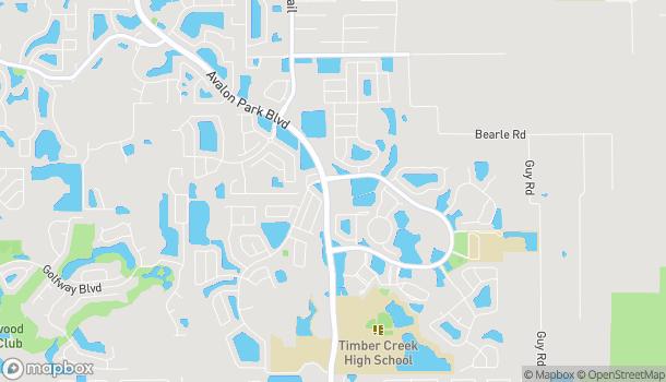 Mapa de 457 S Avalon Park Blvd en Orlando