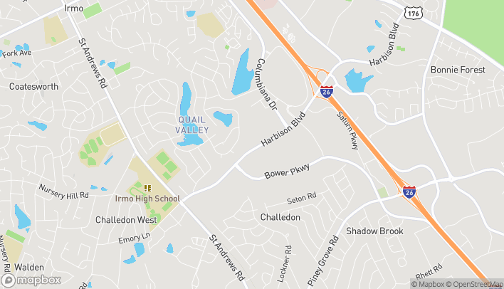 Map of 239 Harbison Blvd in Columbia
