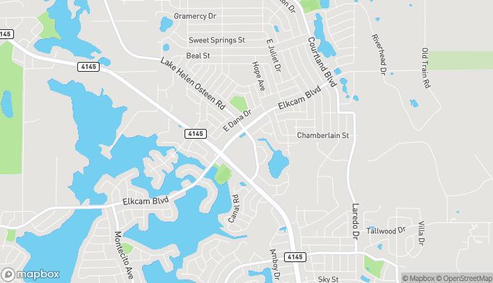 Map of 2783 Elkcam Blvd in Deltona