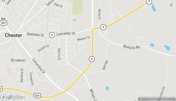 Map of 1691 J A Cochran Bypass in Chester