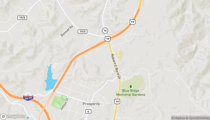 Mapa de 2 Crossroads Mall en Mount Hope