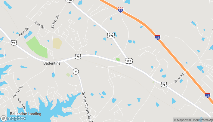 Map of 1131 Dutch Fork Rd in Irmo