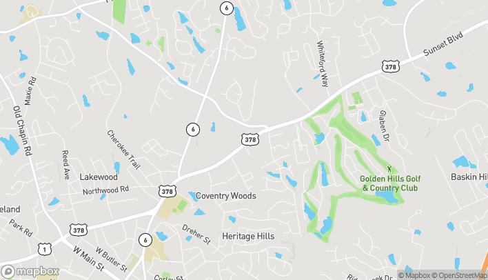 Map of 5540 Sunset Blvd in Lexington