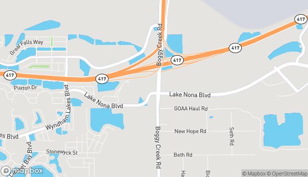 Mapa de 14177 Lake Nona Blvd en Orlando