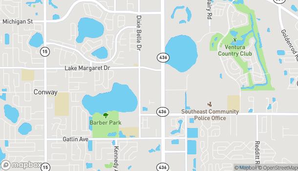 Mapa de 4000 S Semoran Blvd en Orlando