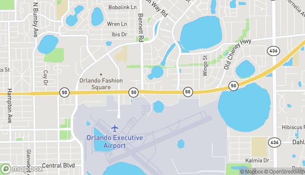 Mapa de 4313 E Colonial Dr en Orlando