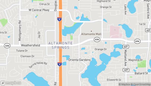Mapa de 275 E Altamonte Drive en Altamonte Springs
