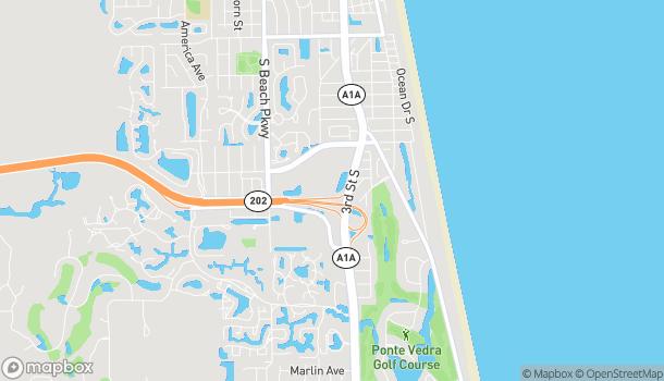 Mapa de 4194 3rd St S en Jacksonville Beach