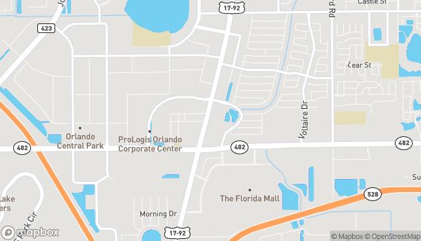 Mapa de 7727 S. Orange Blossom Trail en Orlando