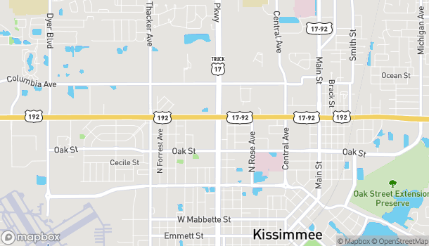 Map of 1332 N John Young Pkwy in Kissimmee