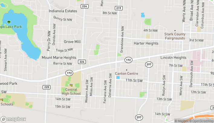 Map of 4515 W Tuscarawas St W in Canton