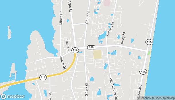 Map of 1454 Sadler Rd in Fernandina Beach