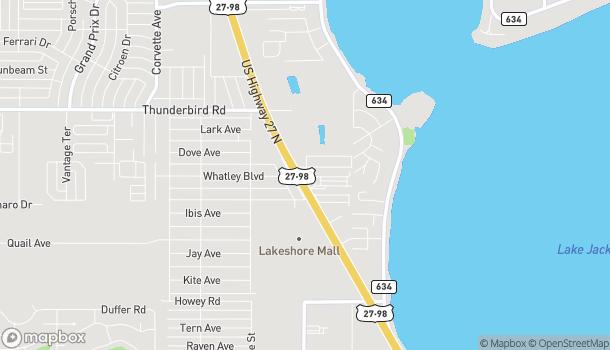 Mapa de 1300 US Highway 27 N en Sebring