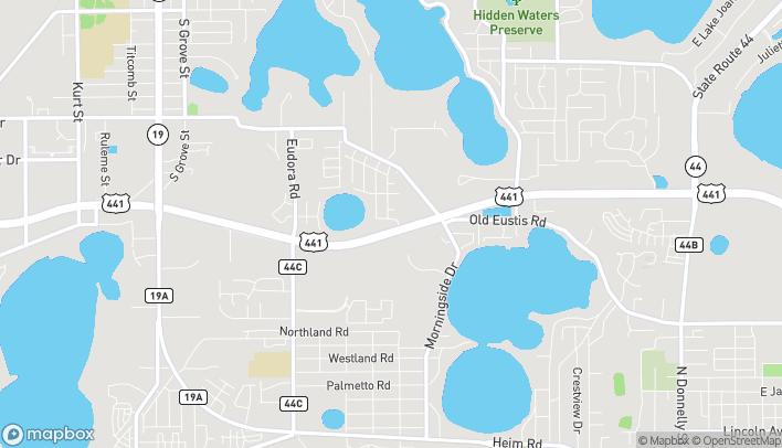 Map of 17435 US Highway 441 in Mount Dora