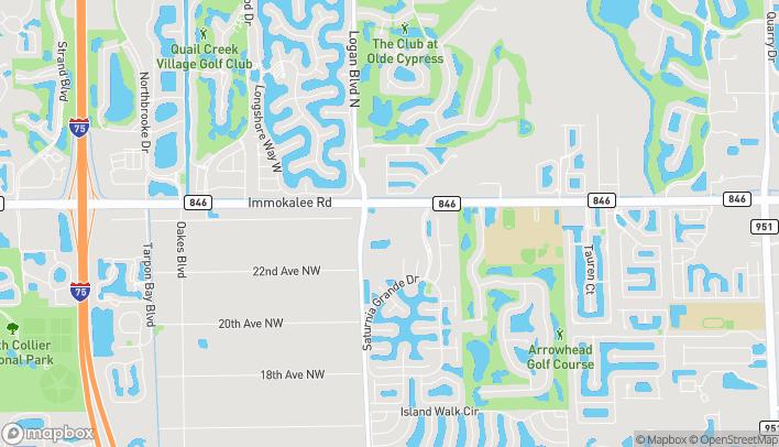 Map of 2236 Logan Blvd N in Naples