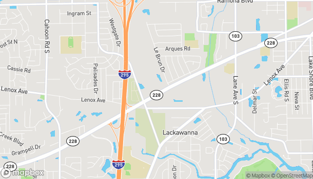 Map of 7077 Normandy Blvd in Jacksonville