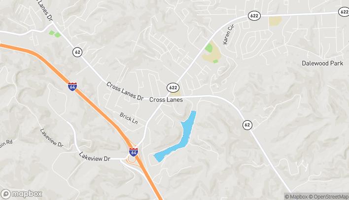 Mapa de 5145 Washington Street W en Cross Lanes
