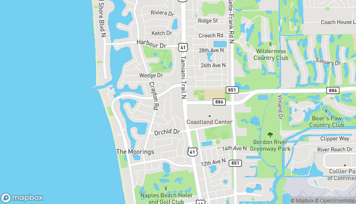 Mapa de 2083 9th St N en Naples