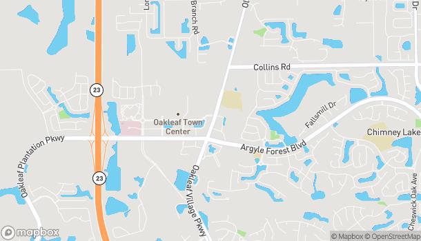 Map of 9508 Crosshill Blvd in Jacksonville