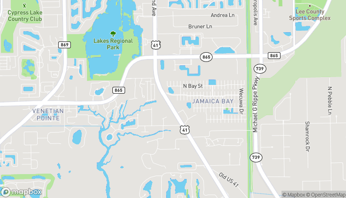 Mapa de 15245 S. Tamiami Trail en Fort Myers