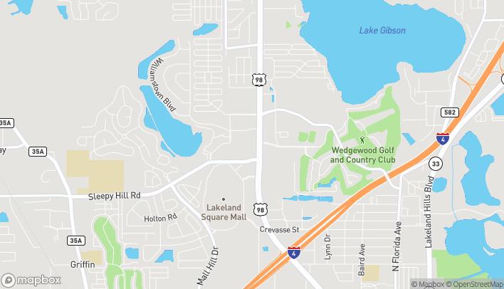 Mapa de 4310 US Highway 98 N en Lakeland