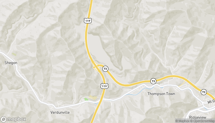 Mapa de 301 George Kostas Drive en Logan