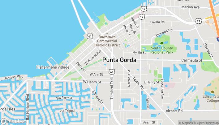 Map of 1001 S Tamiami Trail in Punta Gorda