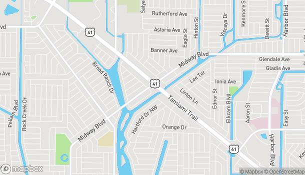 Mapa de 2499 Tamiami Trl en Port Charlotte