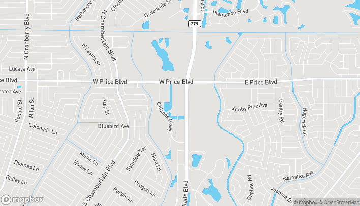 Map of 1562 Price Creek Way in North Port