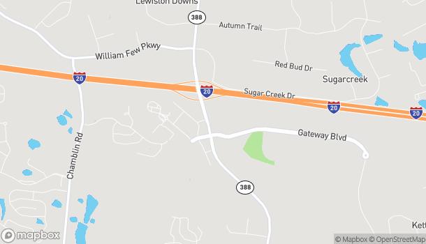 Map of 5003 Steiner Way in Grovetown