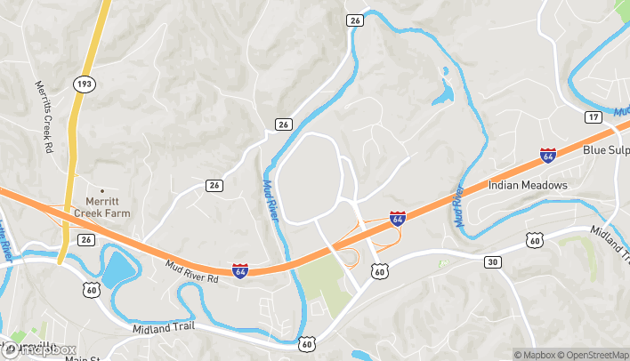 Mapa de 500 Mall Road en Barboursville
