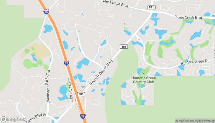 Map of 18017 Highwoods Preserve Pkwy in Tampa