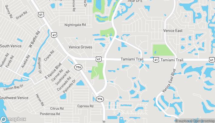 Mapa de 4100 South Tamiami Trail en Venice