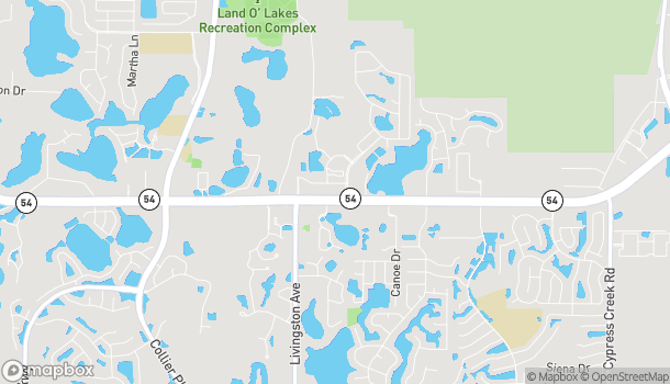 Map of 23647 Sr 54 in Lutz