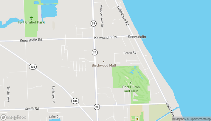 Map of 4350 24th Avenue in Fort Gratiot