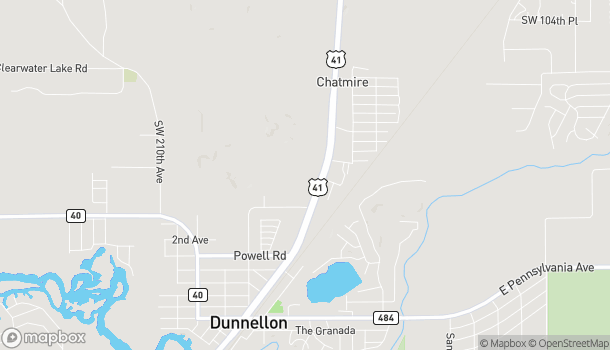 Map of 11352 N Williams Street in Dunnellon