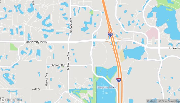 Mapa de 215 N. Cattlemen Rd en Sarasota
