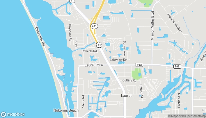 Map of 1187 North Tamiami Trail in Nokomis