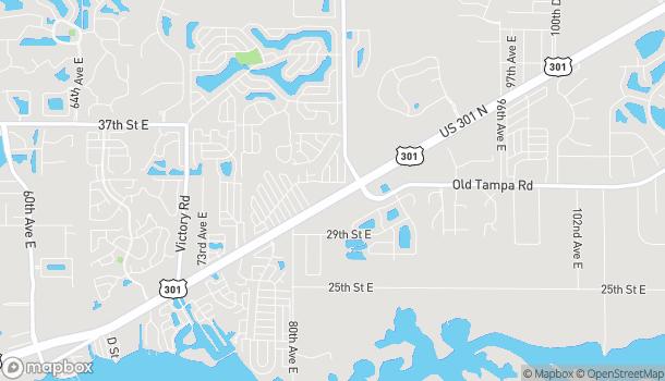 Mapa de 8322 US 301 N en Parrish