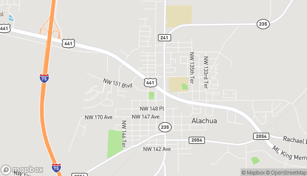 Map of 15210 NW Hwy 441 in Alachua